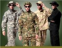 U.S. 101st Airborne Division camouflage combat uniforms sets airgun special forces military combat uniforms jacket and pants