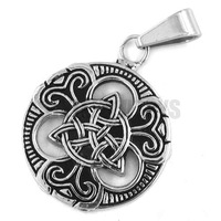 Free shipping! Claddagh Style Pendant Stainless Steel Jewelry Fashion Celtic Knot Women Pendant SWP0196