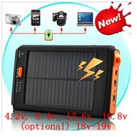 12000mAh / 4.8v-4.2v, 8.4v, 12.6v, 16.8v (optional) 18v-19v-Notebook / Digital / Mobile (solar energy) efficient mobile power