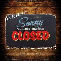 [ Do it ] Tin sign Wholesale  Vintage Bar Metal Home Cafe Decor 20*30 CM B-138