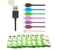 100% Original Belkin 1.2M 8pin Connector USB Charge Sync Cable For iphone 5 5s 5C for Ipad 5 colors in stock