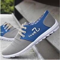 Summer Breathable Male Canvas Shoes Lounged Casual Low Skateboarding Shoes