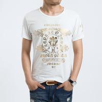 2014 new fashion t-shirt men short sleeve t shirt men cotton confortable D8003