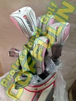 New Ladies Maruman RZ Complete Set 11.5loft Driver Woods Rescue Irons #789PS L Graphite Shafts Putter With Bag