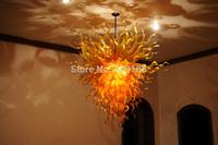 Glossy Yellow Glass Turkish Pendant Lamps