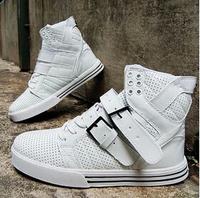 EU size 35-44 Fashion Love Sneakers High top Platform women men sneakers lace up Leisure flat shoes white black red