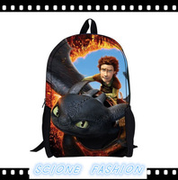 2014 Children's backpack as gift,How to Train Your Dragon children's school bag,new cartoon backpack bag,school backpack BP06