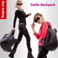 Brand 3D Turtle Backpack Paris France Fashion Backpack Women Mochila Women Girls Large Novelty Soft PVC Leather Travel Rucksack