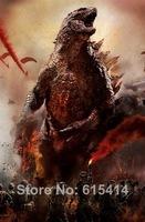 "004 Godzilla - 2014 Monster Fighting Hot Movie  24""x36"" Poster"