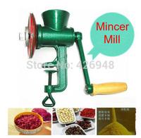 household Chili Soybean Grain Rice Mill Wheat Corn Flour Hand Crank Oats Flour Cast iron Mill Grinding Miller Pulverizer Mincer