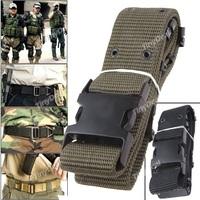 Nylon Webbing Waist Belt Trouser Strap with Plastic Buckle for Men HUI-72371