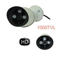 1000TVL 2.1mm lens SONY CMOS 3Array IR Waterproof CCTV Day&Night Vision Camera  Bracket