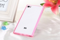 High quality Acrylic+ TPU xiaomi mi3 case with different colors available Free shipping