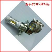 Free Shipping 2pcs/lot led cree 1156 1157 T20 T25 9005 H8 H4  80W led H7 High Power  Car Turn Signal Tail Brake Lights Bulbs