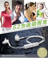 Quality Bluetooth Headset S2 Sports Bluetooth Headphone Microphone Rain/Sweat Proof Free Shipping