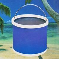 Plastic bucket folding bucket multifunctional folding bucket 9l folding bucket loading box