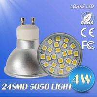 6pcs/lot New arriva! LED Spot Light  High lumen 4w/5w/6w/7w gu10 socket 220V 230V 240V led spotlight bulb lamp light
