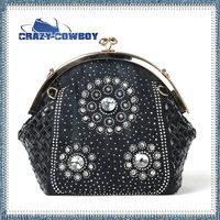 2014 spring and summer handbags diamond women clutch big brand denim ladies' rhinestones fashion luxury party  handbag