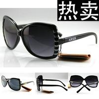 Fashion vintage square rivet sun glasses elegant women sunglasses 100% UV400 resistance free shipping 52
