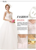Luxury Princess Wedding dress, ball gown, princess style,floor length,bridal dress