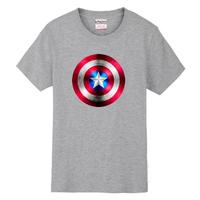 2014 / XS-XXL Captain America Avenger Union personality plus size T-shirt men t shirt women 2014 fashion clothing