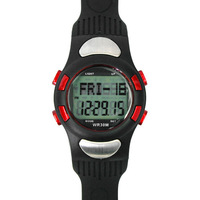 Sport 3D Fitness Wrist Watch Pulse Heart Rate Monitor Pedometer Calories Counter  Free shipping