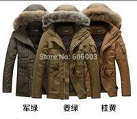 free shipping 2014 brand Winter Outdoors Sports Down Jackets Coats For Men  je3082  M/170  L/175  XL/180  XXL XXXL/190