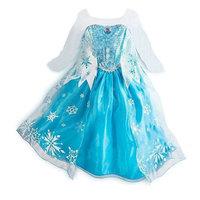 Hot selling New 2014 frozen dress for girl, elsa ,summer dress 2014 Free Shipping