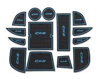 Non-Slip Interior door pad/cup mat auto accessories Fit for Mazda CX-5 CX5 2012 2013 2014 14pcs per set