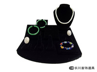 Jewelry Display Set for Necklace/Bracelet/Rings/Watch Display Showcase Jewelry Display Holder Stand Counter Window Set