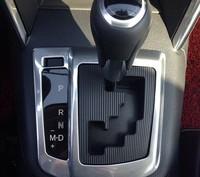 ABS Chrome trim AT panel decoration sticker decoration trim interior frame auto parts Fit for Mazda CX-5 CX5 2012-2014 1pc