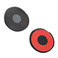 3pcs/Lot 105mm Large 3m Adhesive Sticky Pad for Car DVR/GPS/Mobile Phone Suction Mount Holder Best Dashboard 3m Glue Paste Base