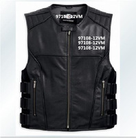 97108-12VM Men's Vest XXL Genuine leather vest jacket
