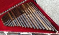 Pan professional zizhu 22 pan wooden box