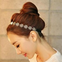 Free shipping! Elegant gentlewoman fashion flower hair jewelry, Trendy lovely partysu style hair accessories, Fashion jewelry