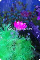 Small and exquisite leybold tank aquarium decoration 10CM artificial plants rockery decoration