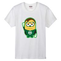 2014 new / Despicable Me Minions Green Lantern personality casual movie shirt plus size T-shirt men t shirt women clothing