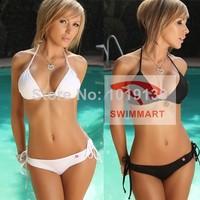 NEW 2014 swimwears  Sexy Women's Summer Beach Lingerie Swimsuit Swimwear Bikini Bra+Bottom Set Candy Colors Free Shipping