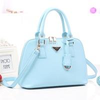 Shell bag PU women's handbag Small 2014 spring cross Medium portable women's bags fashion women's handbag
