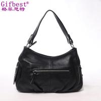 Bags 2014 female fashion tassel genuine leather handbag women's one shoulder cross-body bag big