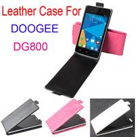 Doogee Valencia DG800 Case, Flip Leather Cover Case for Doogee Valencia DG800 3Color In Stock Freeshipping