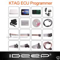Without Tokens limitation 2014 New Design KTAG K-TAG ECU Programming Tool master version v1.89 ECU programmer,Jtag compatible