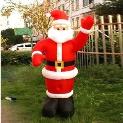 Père Noel Mignon Mignon Père Noël Gonflable
