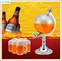 1.5L Bar Tools Globe Beer Dispenser beverage machine water dispenser wine beer machine beer pump Free Shipping