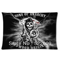 2014 Seconds Kill Promotion Home Frozen Pillows Anime 40cmx60cm Decorative Throw Pillow Covers Sons of Anarchy Couch Case P290-1