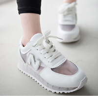 2014 han edition tide female hollow out fashion stars running shoes free shipping