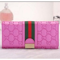real leather with canvas women wallets 2014 brand women purse fashion hot sale women clutch wallets