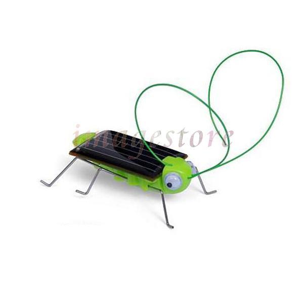LUFY Solar Power Energy Crazy Grasshopper Cricket Kit Toy(China (Mainland))