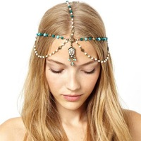 Free shipping! Elegant nymph style hair jewelry, Partysu gentlewoman fashion hair accessories, Best gift!