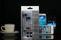 Smart Metal 3.5mm in-ear Super Bass Headset Headphones Clear Sound Earphone With Microphone For HTC Nokia Samsung LG Ipod iphone